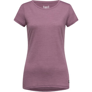 super.natural Everyday T-Shirt Damen berry conserve melange berry conserve melange