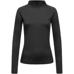 super.natural Base 175 Sweat-shirt à col roulé Femme, noir noir