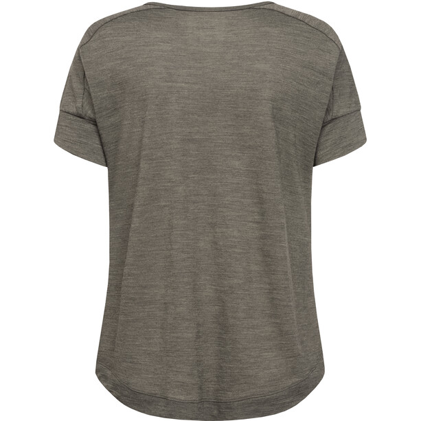 super.natural Isla T-Shirt Damen killer khaki melange