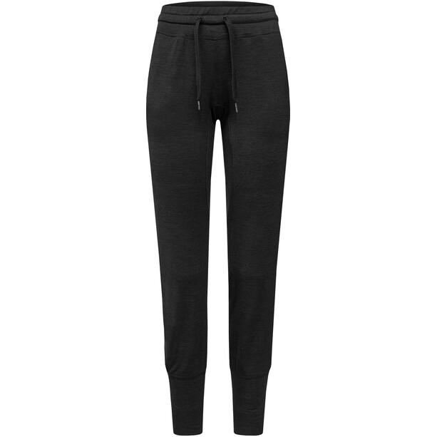super.natural Essential Cuffed Pants Dam jet black melange