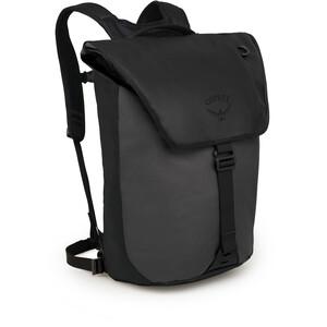 Osprey Transporter Flap Sac à dos, noir/gris noir/gris