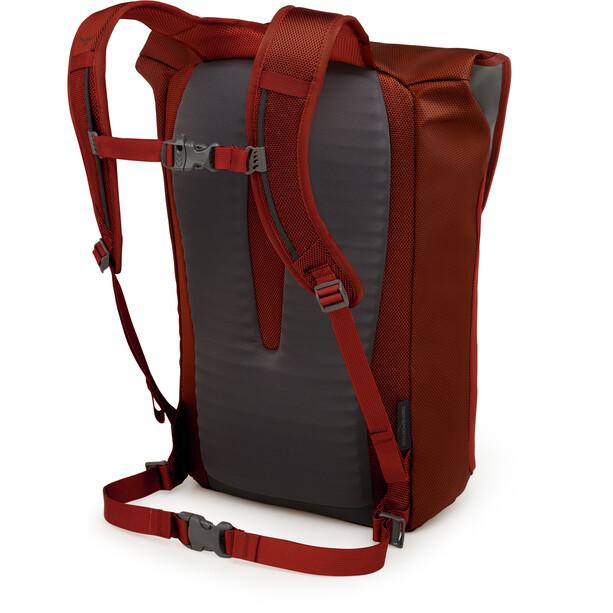 Osprey Transporter Flap Sac à dos, rouge