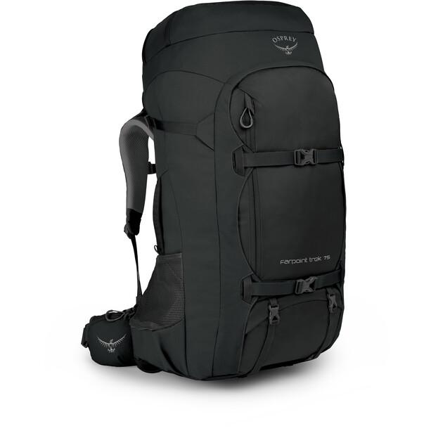 Osprey Farpoint Trek 75 Backpack Herr black