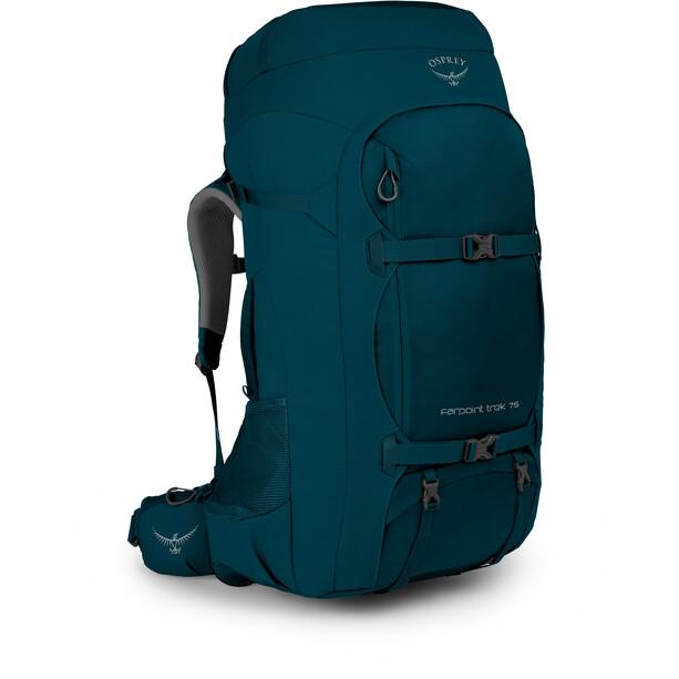 Osprey Farpoint Trek 75 Backpack Herr petrol blue