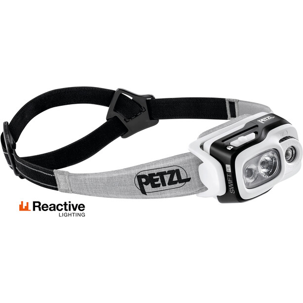 Petzl Swift RL Otsalamppu, black