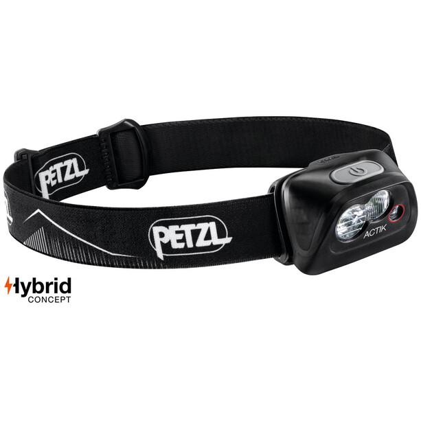Petzl Actik Stirnlampe black