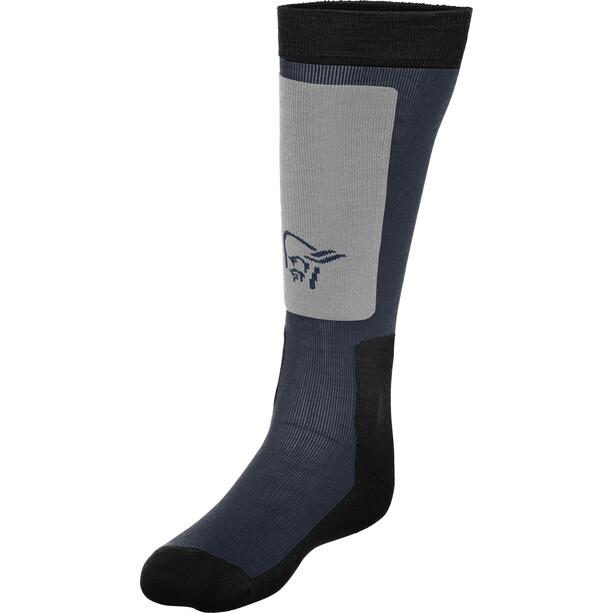 Norrøna Lofoten Mid Weight Merino Socken cool black