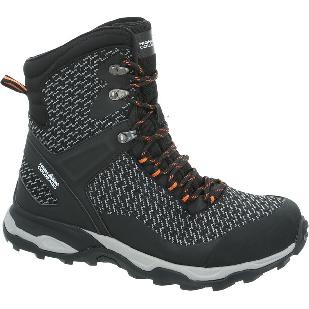 High Colorado Alaska Schuhe black-grey