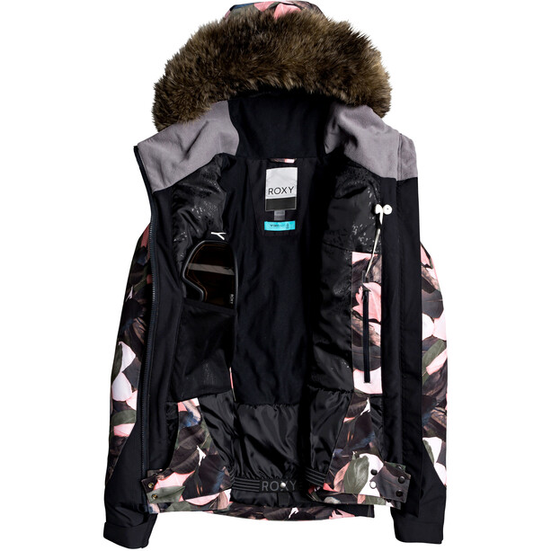 Roxy Jet Ski Premium Jacke Damen living coral plumes
