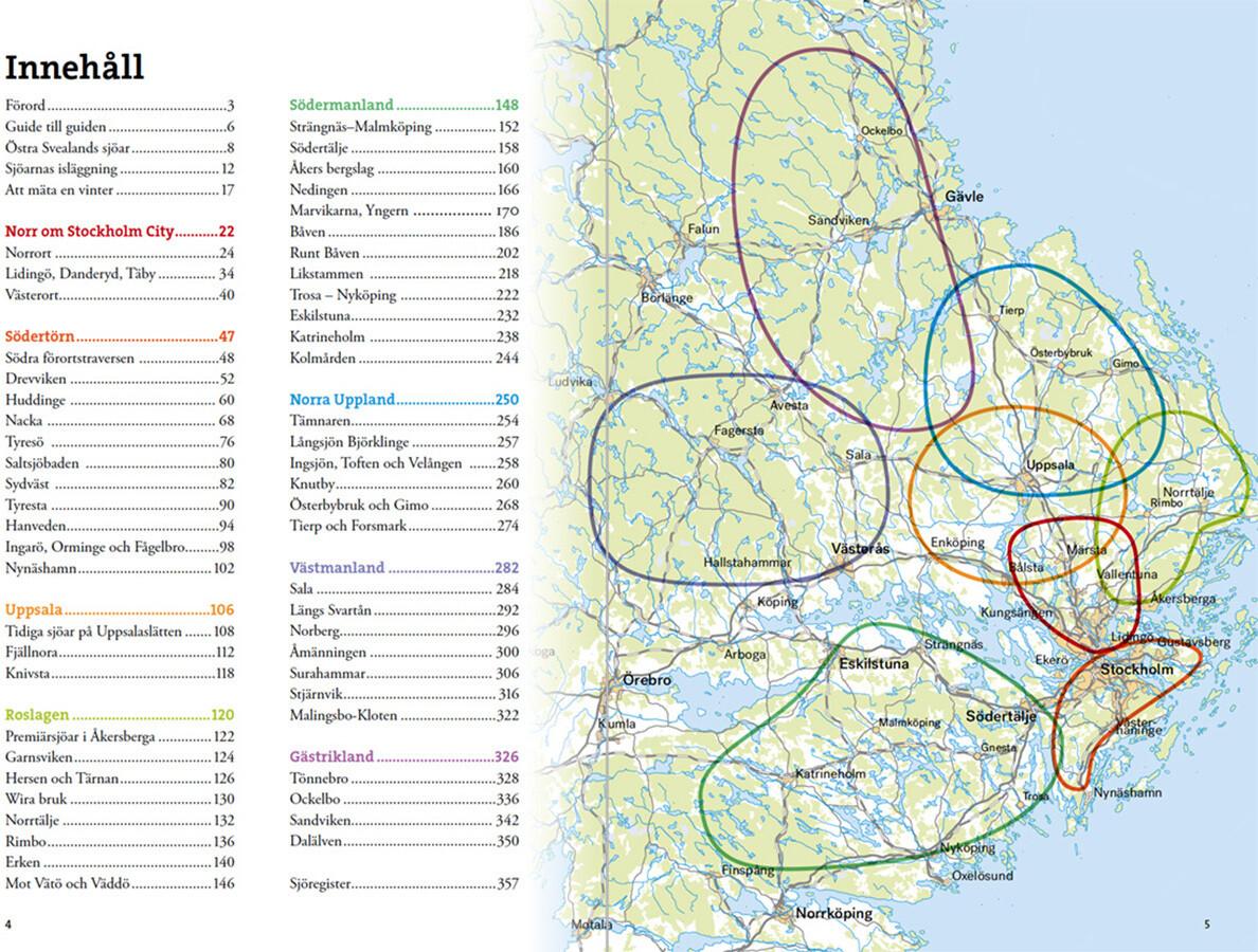 Calazo Skrinnarens guide till sjöarna i Östra Svealand