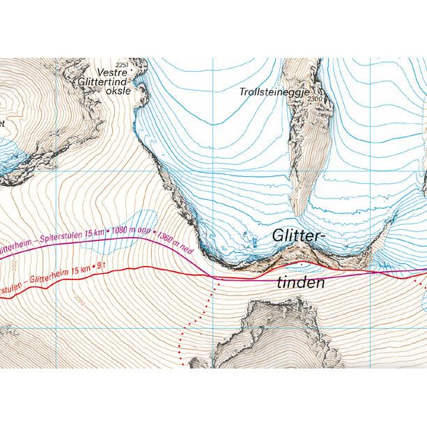 Calazo Høyfjellskart Glittertind