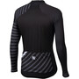Sportful Bodyfit Team Langarm Winter Trikot Herren black/anthracite/white