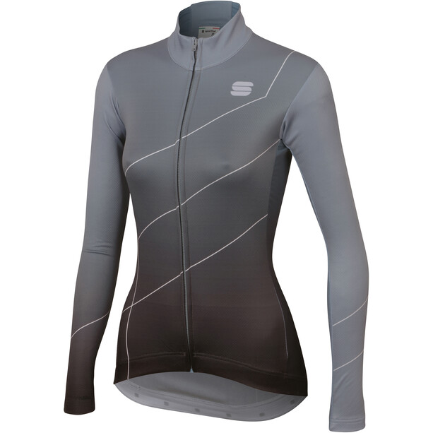 Sportful Shade Langarm Trikot Damen cement/black