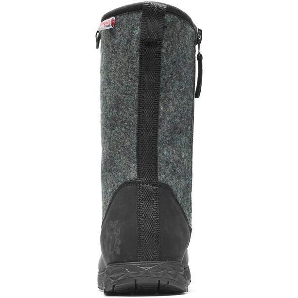 Icebug Grove Michelin Wic Woolpower Boots Dam Black/Grey