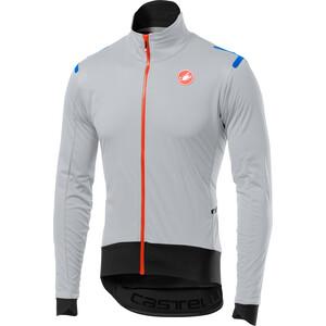 Castelli Alpha Ros Light Jacket Herr silver gray/black silver gray/black