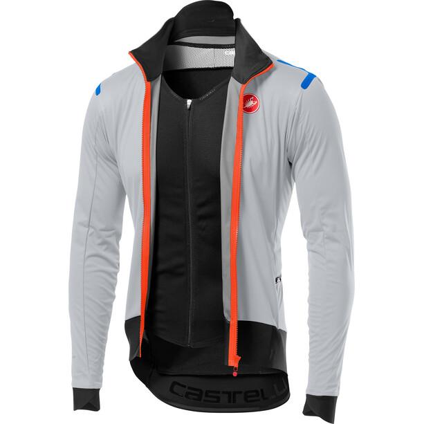 Castelli Alpha Ros Light Jacket Herr silver gray/black