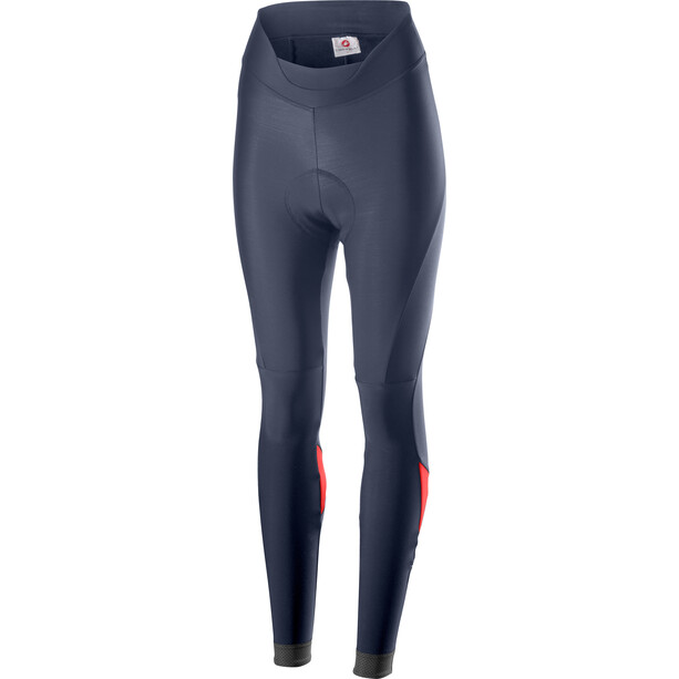 Castelli Velocissima Tights Women dark/steel blue/brilliant pink