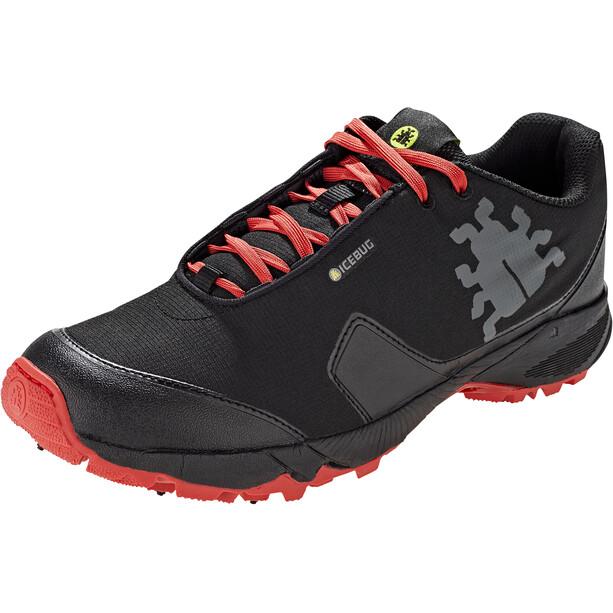 Icebug Pytho4 BUGrip Schuhe Herren black/ruby