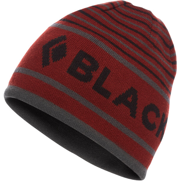 Black Diamond Brand Beanie red oxide/anthracite/black