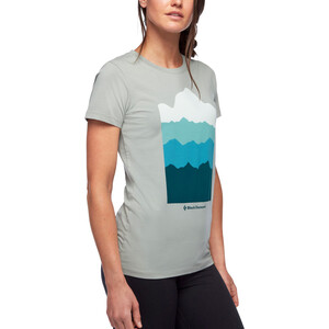 Black Diamond Vista T-Shirt Damen atmosphere atmosphere
