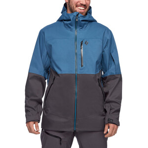 Black Diamond Boundary Line Mapped Isolierende Jacke Herren astral blue/carbon astral blue/carbon