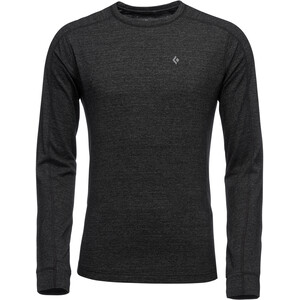 Black Diamond Solution 150 Merino Baselayer Crew Herren black black