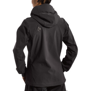 Black Diamond Dawn Patrol Shell Jacke Damen smoke smoke