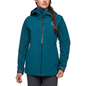 Black Diamond Recon Stretch Ski Shell Jacke Damen spruce spruce