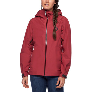 Black Diamond Liquid Point Shell Jacke Damen wild rose wild rose