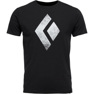 Black Diamond Chalked Up Kurzarm T-Shirt Herren black black