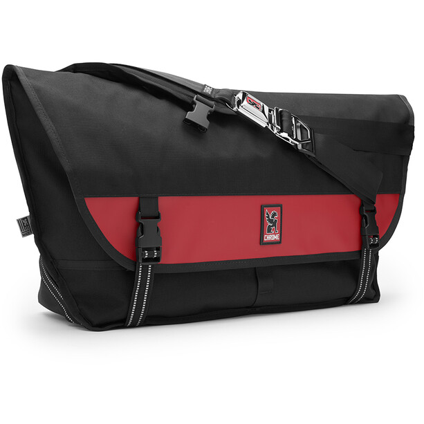 Chrome Citizen Umhängetasche black/red