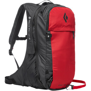 Black Diamond JetForce Pro Sac Avalanche 25l, rouge rouge
