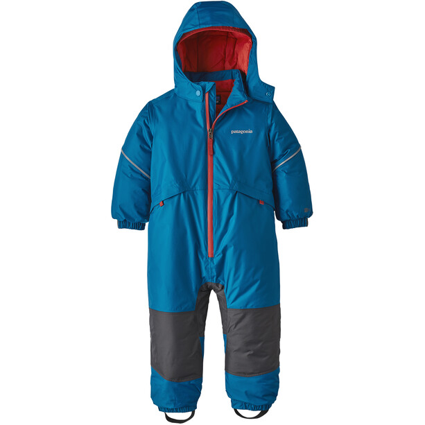 Patagonia Snow Pile One-Piece Baby Barn Balkan Blue