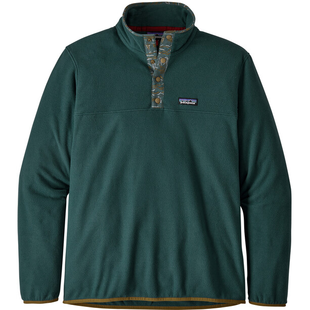 Patagonia Micro D Snap-T Pullover Herr Piki Green