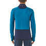 Patagonia R1 Pullover Hoody Herr balkan blue