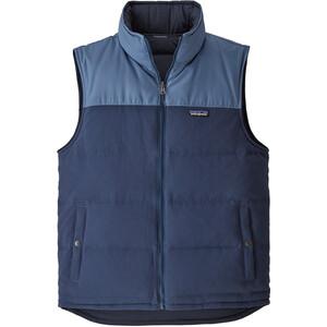 Patagonia Reversible Bivy Down Vest Herr stone blue/woolly blue stone blue/woolly blue
