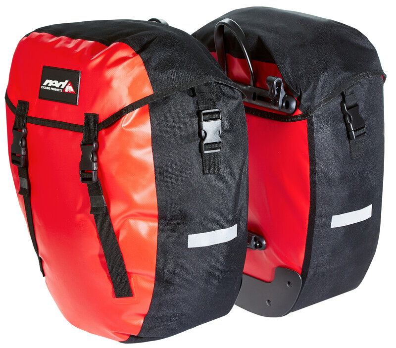 Red Cycling Products Urban Twin Gepäckträgertasche red Gepäckträgertaschen  BG-2131-RCP-RED