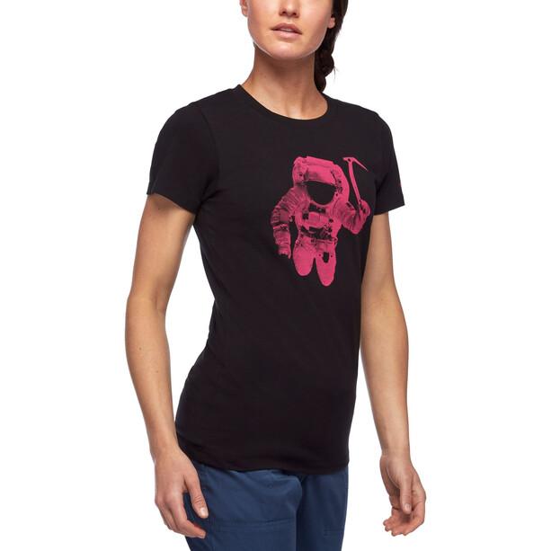 Black Diamond Spaceshot SS Tee Dam Black/Ultra Pink