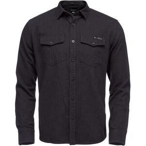 Black Diamond Sentinel LS Flannel Shirt Herr Carbon Heather Carbon Heather
