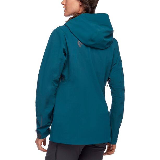 Black Diamond Recon Stretch Ski Shell Jacket Women Spruce