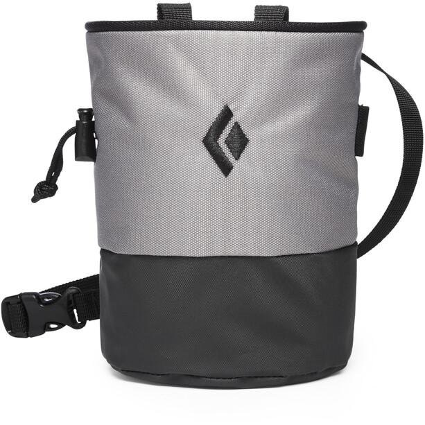 Black Diamond Mojo Zip Chalk Bag Ash/Slate