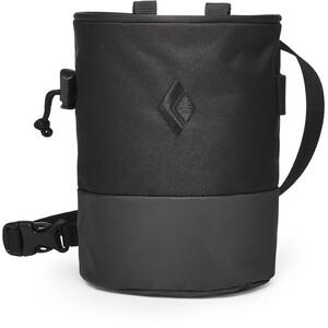 Black Diamond Mojo Zip Chalk Bag Black/Slate Black/Slate