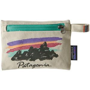 Patagonia Reißverschlusstasche S free hand fitz roy/bleached stone free hand fitz roy/bleached stone