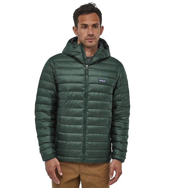 Patagonia Daunen Sweater Hoodie Herren carbon