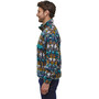 Patagonia Lightweight Synchilla Snap-T Pullover Herren cedar mesa big/neo navy