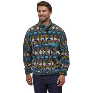 Patagonia Lightweight Synchilla Snap-T Pullover Herren cedar mesa big/neo navy cedar mesa big/neo navy