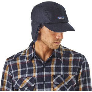 Patagonia Recycled Wool Ear Flap Kappe classic navy classic navy