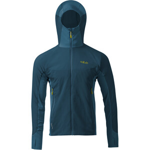 Rab Alpha Flux Fleecejacke Herren ink ink