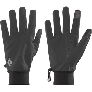 Black Diamond Lightweight Softshell Gloves Smoke Smoke
