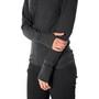 Icebreaker Descender Veste manches longues à capuche zippée Femme, jet heather